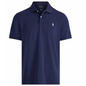 Playera Polo Golf Azul Marino Ralph Lauren