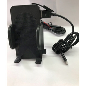 Suporte E Carregador Celular Moto Universal