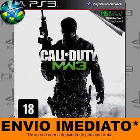 Jogo Call Of Duty Modern Warfare 3 Com Dlc Play 3 Psn Mídia
