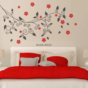 Vinilo para pared de habitacion matrimonial vinilos - Vinilos decorativos dormitorio ...