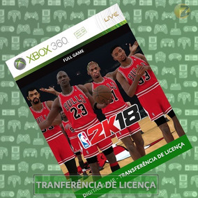Nba 2k18 | Xbox 360 | Midia Digital | Transf. De Licença