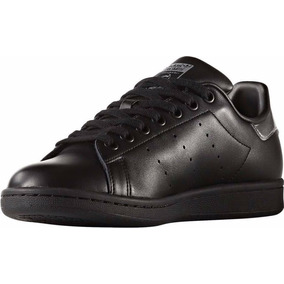 Tenis adidas Stan Smith Unisex Negro/plateado Modelo:bb5156