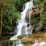 Painel Adesivo Papel Parede Paisagem Cachoeira Natureza