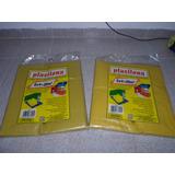 Lona Plástica Amarela-plasilona