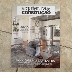 Revista Arquitetura & Construção Abril 2016 Acabamentos
