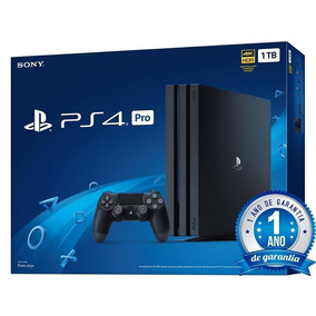 Console Ps4 Sony Playstation 4 Pro Black 1tb Anatel