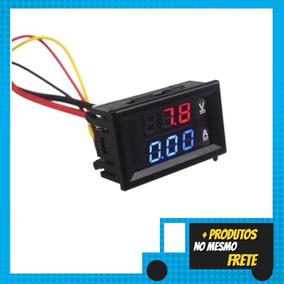 Voltímetro E Amperímetro Digital Dc 100v X 10a Display
