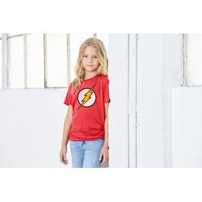 Playera Flash, Playera Niña, Dc Comics, Super Héroes
