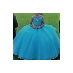 Vestidos de presentacion azul turquesa