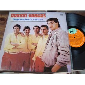 Disco Vinilo Adrian Vargas Vagabundo Sin Destino