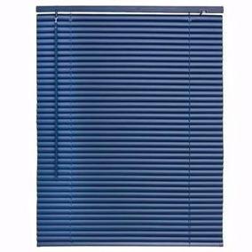 Persianas Miniflex De Pvc De 99x150 Cms Beige, Azul Hogar