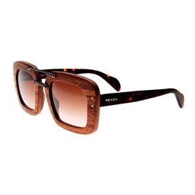 123a9bec87725 Oculos De Sol Feminino Quadrado - Óculos De Sol Prada no Mercado ...