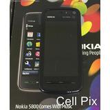 Nokia 5800 - Só Funciona Tim, Raridade, 3mp, Wi-fi - Usado