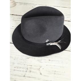 Sombrero De Dama Tipo Parisino Fieltro De Lana - Ropa y Accesorios ... b65b063dac0