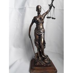 Escultura Diosa De La Justicia De 40 Cm