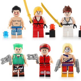 Minifigures Street Fighter 6 Bonecos Game Nintendo Ps2 Ps3