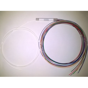 Splitter Fibra Óptica Sm Plc 1:8 Sem Conectores