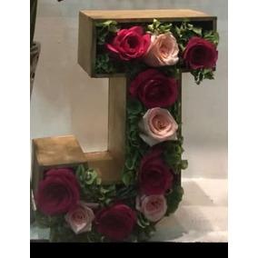 Caja Letra Para Flores 30x25x10 Ksj1