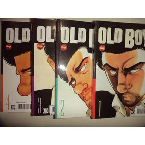 Manga Old Boy 1 2 3 4 Nova Sampa Editora 2013 Excelentes