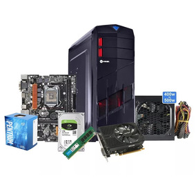 Cpu Pc Gamer Pentium Hd 1tb 8gb Ddr4 Gtx1050ti 4g +brinde