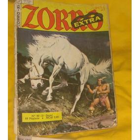 Revista Zorro Extra Nº 93 Bom Estado