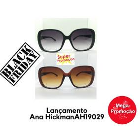afc3176e5d51d Kit 2 Oculos De Sol Original Ana Hickman Modelo Novo