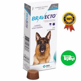 Bravecto Antipulgas E Carr. Cães De 20 A 40kg - Maio 2019