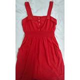 Vestido Casual Rojo Importado