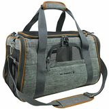Mr Peanuts Airline Approved Soft Carpa Pet Carrier Luxury Tr