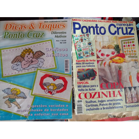 Revistas Antigas Ponto Cruz Raridade