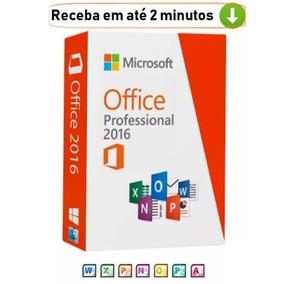 Pacote Office 2016 Pro Plus Ativação Direto Microsoft