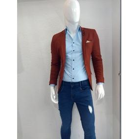 Saco Blazer Para Hombre Color Shedron