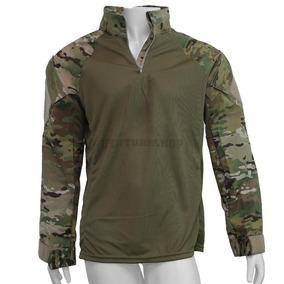 Camisa Combat Shirt Farda Especial Forhonor - Multicam Tam G