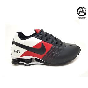 efe46982a Tênis Running Masculino Nike Shox Classic Couro Importado