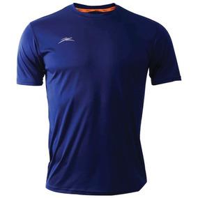 Playera Deportiva Atlética Fly99 Azul Marino 089a8472f30d8