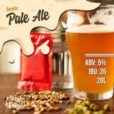 Pale Ale 20 Litros - Kit De Insumos Cerveja Artesanal