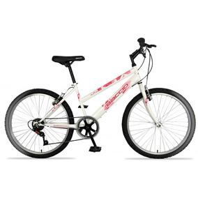 Bicicleta Niña Rodado 24 Baccio Alpina Lady - Montaña 6 Vel