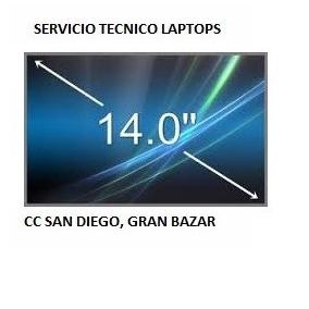 Pantalla Para Laptop 14. Somos Tienda Fisica