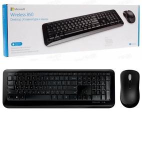 Kit Teclado E Mouse Sem Fio Wireless Microsoft 850 Abnt2 Ç