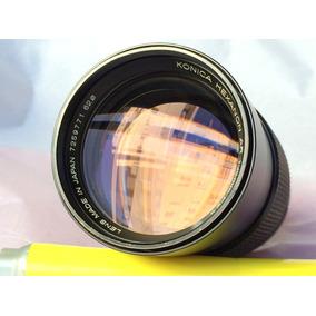 Camera Antiga - Lnte Konica 135mm F2.5 Rara!