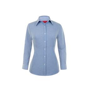 efd1aac79b9d0 Camisa De Oficina (trabajo) Manga Larga Para Mujer 3xl - 4xl