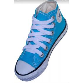 a073a0745 Tenis Converse All Star - Converse Casuais Azul turquesa no Mercado ...