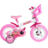 Bicicleta Infantil Menina Princesinha Aro 12 Styll Kids