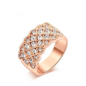 f15c236dd03b1 Anel Rosa Swarovski - Anéis com o melhor preço no Mercado Livre Brasil