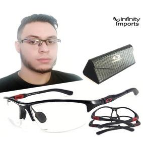 878a8d5119e5a Armação Oculos Grau Masculino Titânio Ls200 Original Naylon