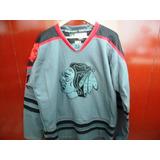 Camisa Hockey Nhl Chicago Blackhawks Muito Nova Reebok