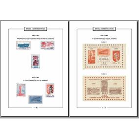Álbuns Digitais De Selos Regulares, Comemorativos, Especiais