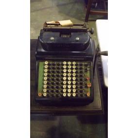 Máquina Registradora Antiga R.c. Allen # 3802