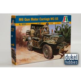 Italeri 1/35 M6 Gun Motor Carriage Wc55 (6555) Dukel Hobbies