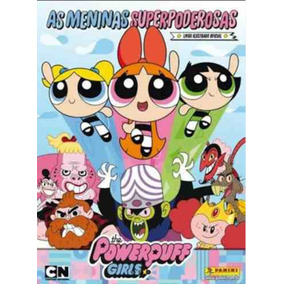 180 Figurinhas As Meninas Superpoderosas - Sem Repetição